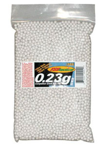TSD Competition BBs .23g 5000ct Bag White