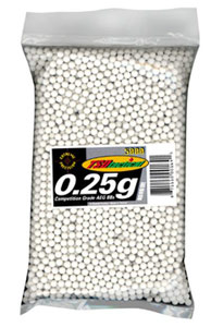 TSD Competition BBs .25g 5000ct Bag White