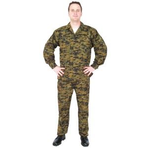 Marine Corps Style Digital Camo Battle Dress Uniform (BDU)