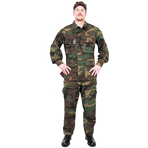 BDU (Battle Dress Uniform) Fatigue Camoflauge Jackets