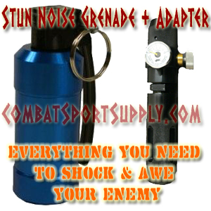 Mad Bull GSG-01 Audio Stun Noise Grenade- Complete KIT  CO2
