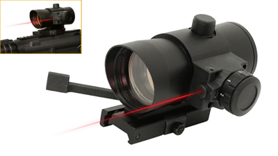 NcStar Red Dot / Laser with Quick Release Weaver Mount DLB140