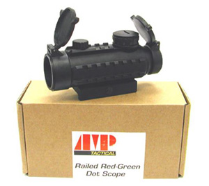AMP Railed Red/Green Dot 30mm Sight