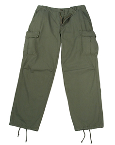 Rothco Vietnam Era 6 Pocket OD Fatigue Pants airsoft