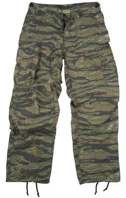 Vietnam Era Tiger Stripe Fatigue Pants airsoft