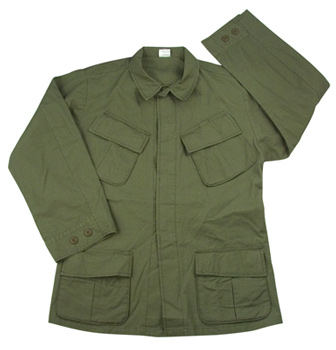 Rothco Vietnam Era OD Slant Pocket Fatigue Jacket airsoft