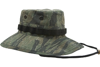 Vietnam Era Vintage Boonie Hat Tiger Stripe airsoft