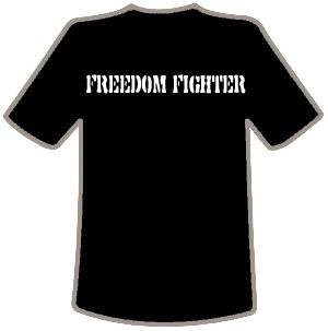 CSS Freedom Fighter tshirt