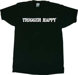 Flurry TRIGGER HAPPY T-shirt