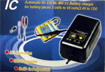 Hitech Charger/Discharger 7.2-12V NiCad and NiMH