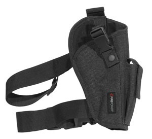 FirePower Elite Tactical Thigh Holster Black (Left)