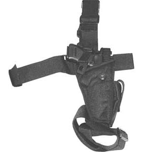 FirePower Elite Tacical Thigh Holster Black (Right)