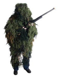 Sniper Ghillie Suit for Airsoft / Paintball