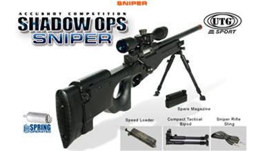 SALE! UTG Shadow Ops Airsoft Sniper Rifle (L96 Type 96)