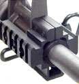 UTG M4 Deluxe Tri-Rail Barrel Mount