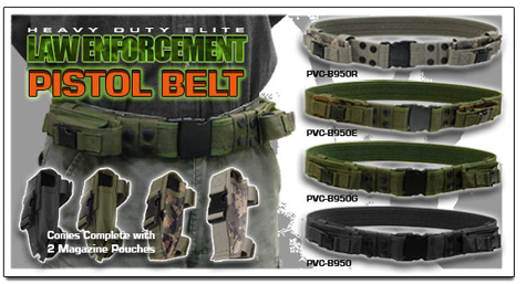 UTG Law Enforcement Pistol Belt