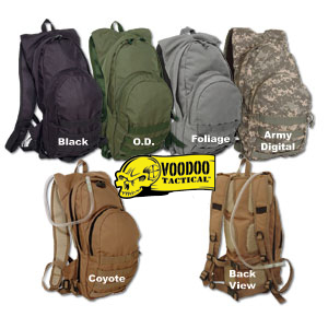 CSS VooDoo Tactical MSP-3 Expandable Hydration Pack w/ Shoulder Straps