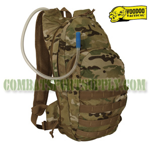 VooDoo Tactical crye multicam MSP-3 Expandable Hydration Pack w/ Universal Straps