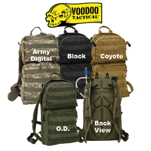 CSS VooDoo Tactical Merced Hydration Pack