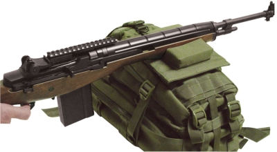 VooDoo Tactical Molle Sniper Rifle Rest