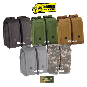 VooDoo Tactical Modular M4 / AK Double Mag Pouch