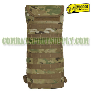 VooDoo Tactical crye multicam Hydration Bladder Carrier Pack w/ Removable Straps