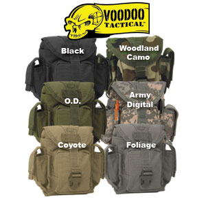 VooDoo Tactical Molle Dump Pouch