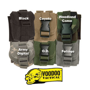 VooDoo Tactical Molle Single Grenade Pouch