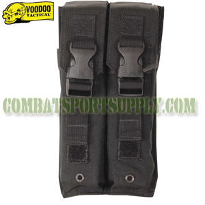 VooDoo Tactical Molle MP5 double Magazine Pouch 20-9339