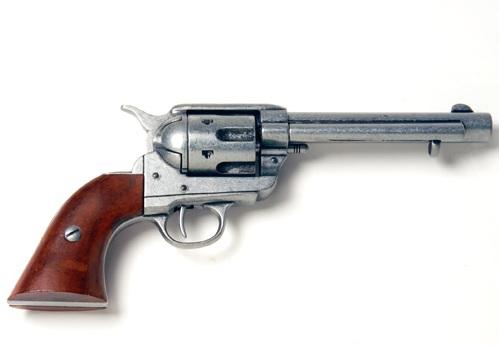 Western Revolver Gun Western Revolver Iron ...