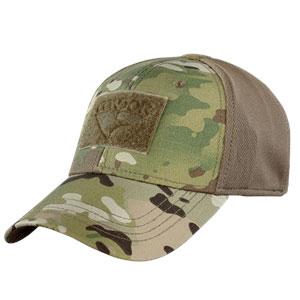4044f812c10324 Condor Outdoor Flex Fit Tactical Cap / Hat / Ballcap Multicam