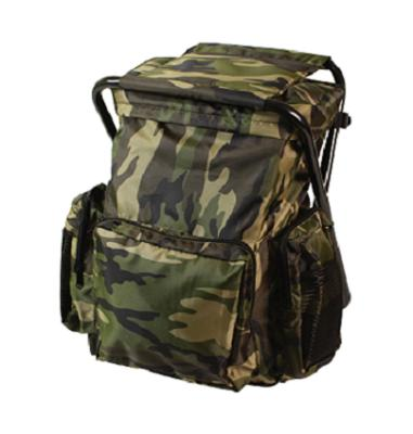 Rothco Backpack And Stool Combo Pack Woodland Camo