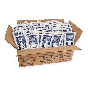 Emergency Water Pouches Case 96 each