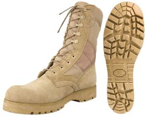 LUG SOLE GI TYPE DESERT TAN BOOT