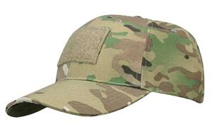 6 Panel Hat Multicam with Loop Field