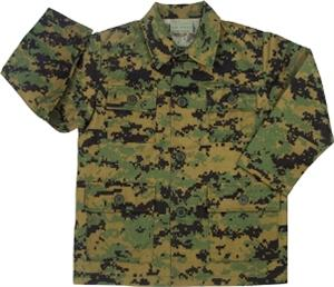 Woodland Marine Digital BDU MARPAT Fatigue Jacket