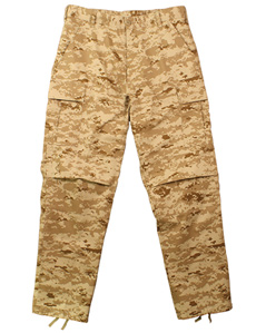 USMC Desert Digital BDU Fatigue Pants