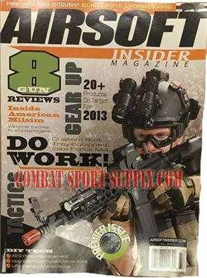 Airsoft Insider Magazine Premier Issue Fall 2013