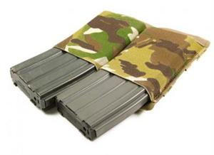 Blue Force Gear Helium Whisper Ten Speed Double M4 Pouch Multicam