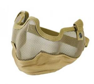 Bravo V2 Strike Steel Full Face Mesh Mask Coyote Tan