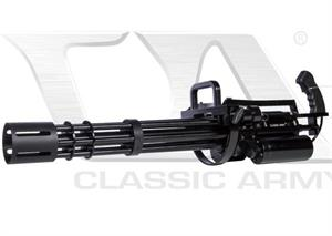Classic Army M134A-2 Navy Vulcan Mini-gun Hybrid Powered Airsoft Replica S009M-1