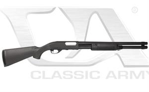Classic Army CA870 Shotgun Spring Powered Metal Body Black S013P