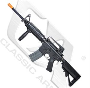 Classic Army Full Metal M4A1 RIS Carbine AEG Airsoft Gun w LiPo Battery & Charger Package AR004M-2-X