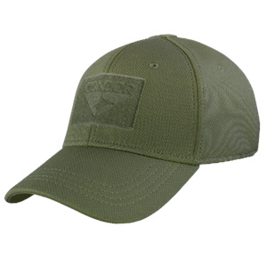Condor Outdoor Flex Fit Tactical Cap / Hat / Ballcap OD Green