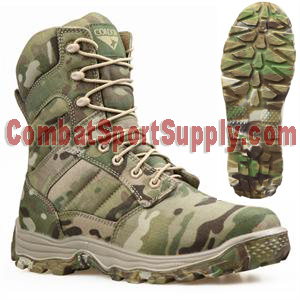 "Condor Outdoor 8"" ELITE Tactical Boot with multicam sole"