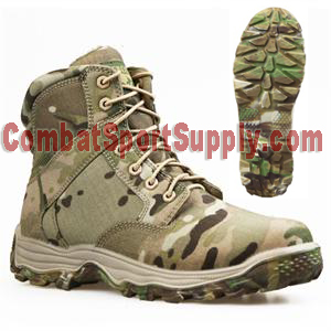 "Condor Outdoor 6"" Cruiser Tactical Boot with multicam sole"