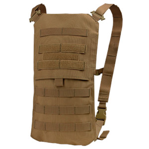 Condor Outdoor Oasis Hydration Pack w Bladder Coyote Brown