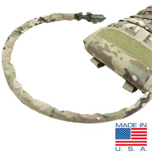 Hydration Bladder Tube Cover - Multicam