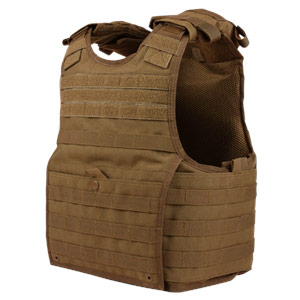 Condor Outdoor EXO Plate Carrier Molle Vest Coyote Brown XPC-498