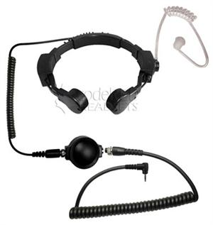 Code Red Throat Mic with PTT -For Motorola One Pin Radios